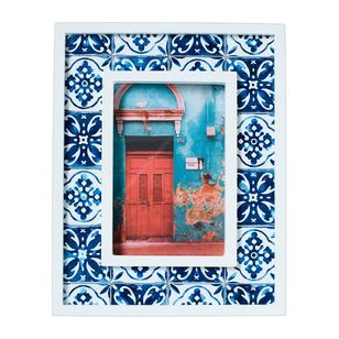 Living Space European Holiday Mosaic Frame