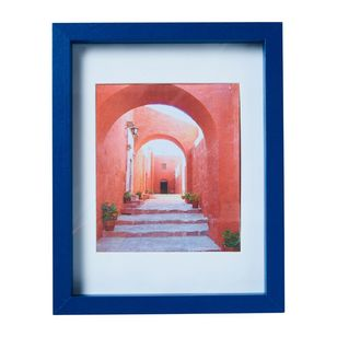 Living Space European Holiday Walk Away Framed Print