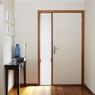 Windowshade 50mm Sidelight Wood Venetian Blind