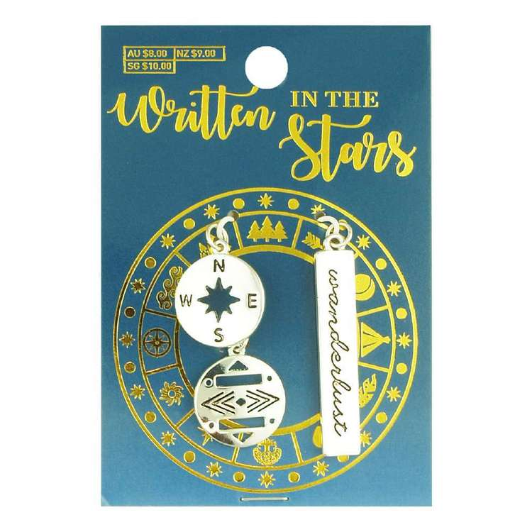 Written In The Stars Wanderlust Charms