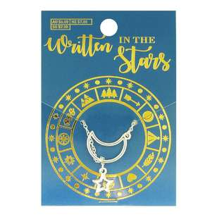 Written In The Stars Star & Moon Necklace
