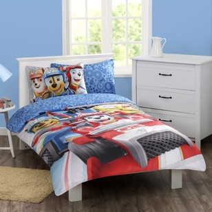 Paw Patrol Ready Race Boy Quilt Cover Set