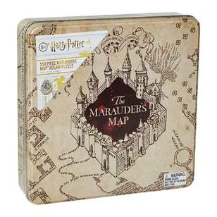 Harry Potter Marauder's Map Jigsaw Puzzle