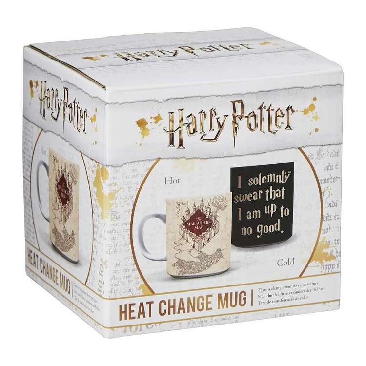 Marauder's Map Heat Change Mug