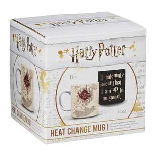 Marauder's Map Heat Change Mug