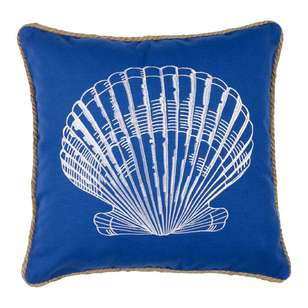Koo Home Shells Embroidered Cushion