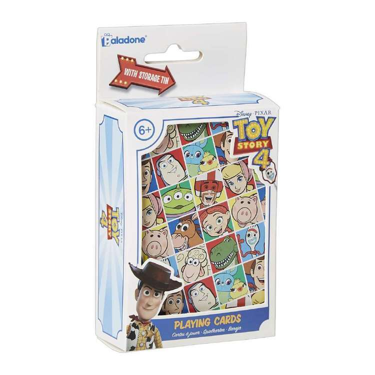 Disney Toy Story 4 Playing Cards With Tin