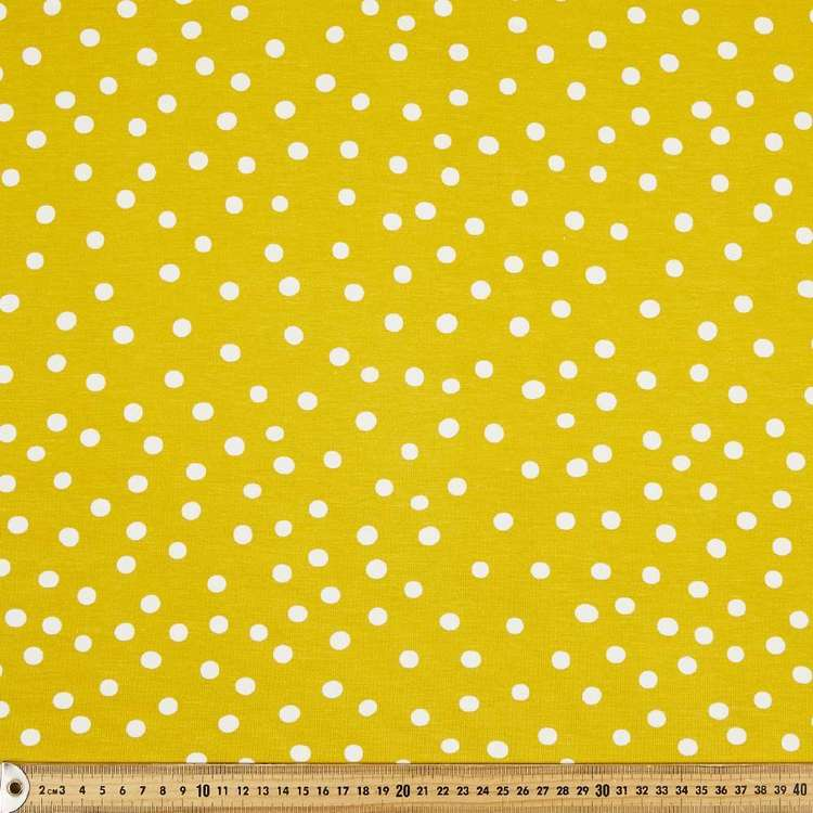Dot # 2 Rayon Spandex Knit Fabric