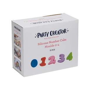 Party Creator Silicone Cake Moulds 0-4
