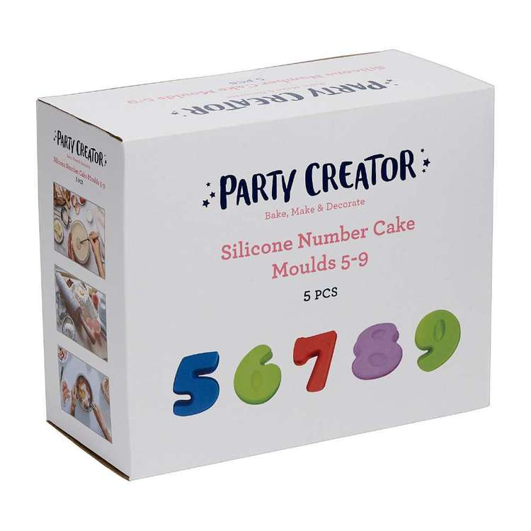 Party Creator Silicone Cake Moulds 5-9