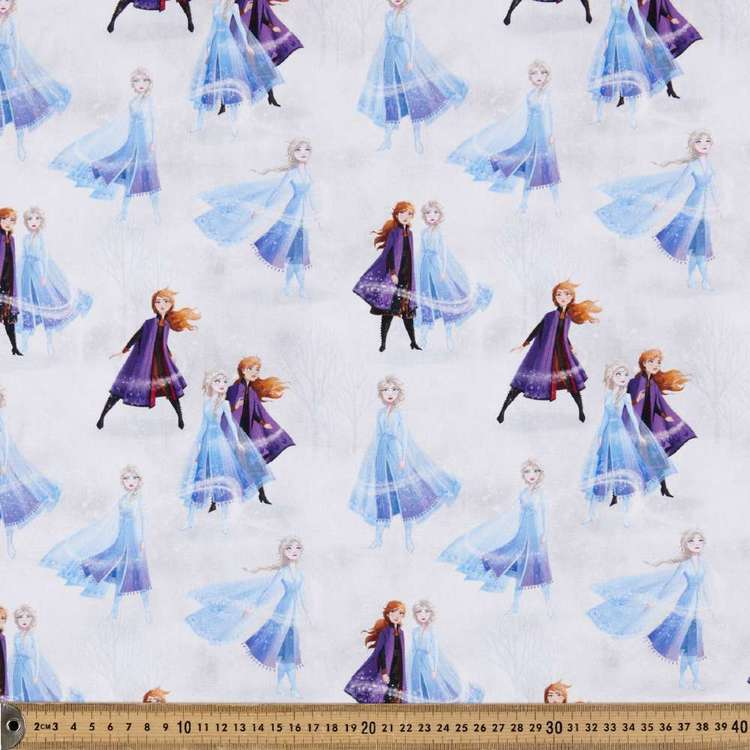 Disney Frozen 2 Sisters Allover Cotton Fabric