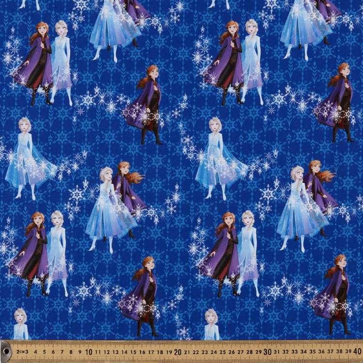 Disney Frozen 2 Snowflakes Cotton Fabric