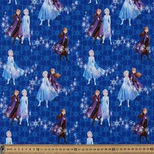 Disney Frozen 2 Snowflakes Cotton Fabric