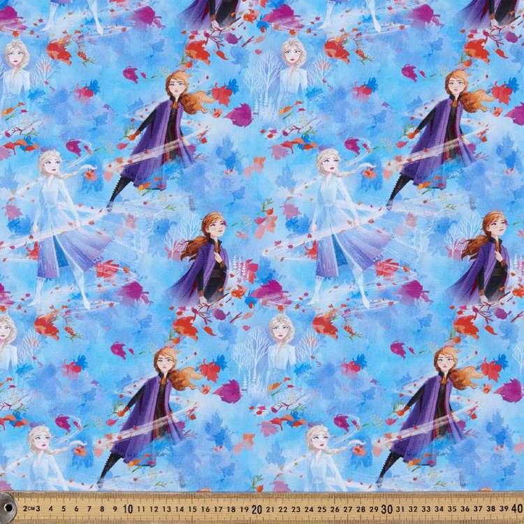 Disney Frozen 2 Nature Allover Cotton Fabric
