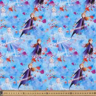Disney Frozen 2 Nature Allover Cotton Fabric