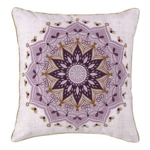 Ombre Home Mediterranean Summer Mandala Cushion