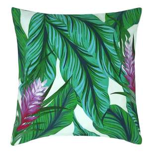 Ombre Home Mediterranean Summer Leaves Cushion