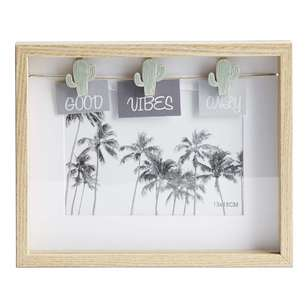 Living Space Good Vibes Only Photo Frame
