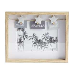 Living Space Smile Sparkle Shine Photo Frame