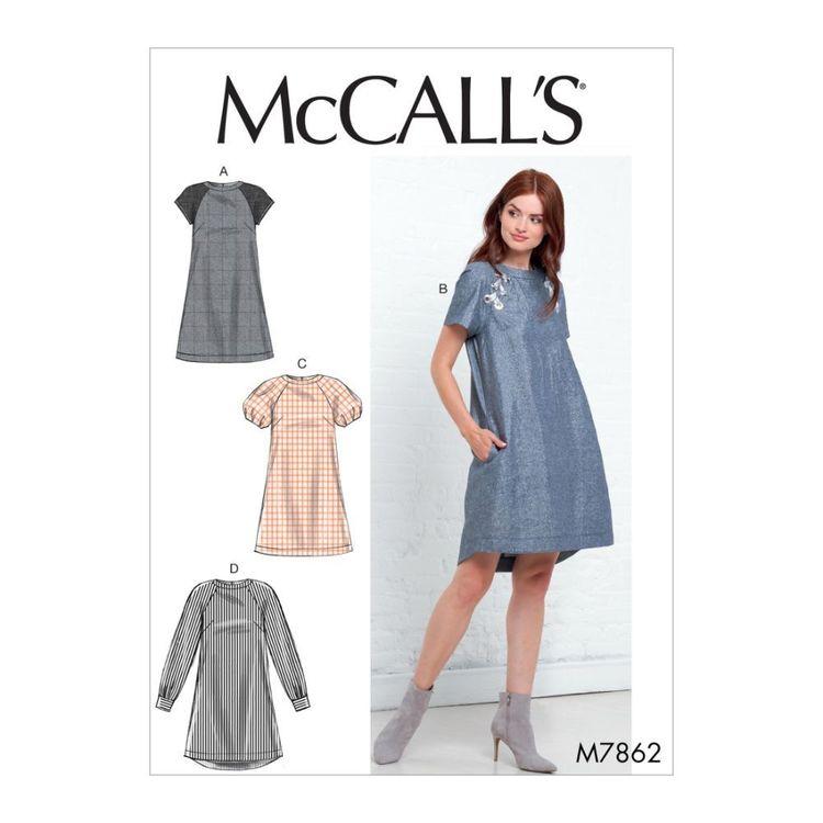 McCall's Pattern M7862 Misses' Dresses