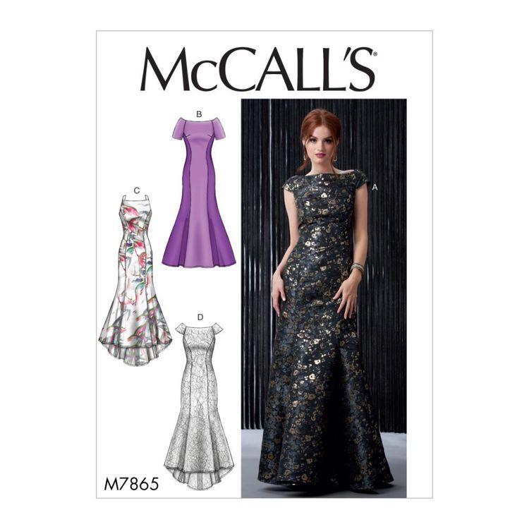 McCall's Pattern M7865 Misses' Dresses