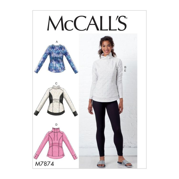 McCall's Pattern M7874 Misses' Tops and Leggings