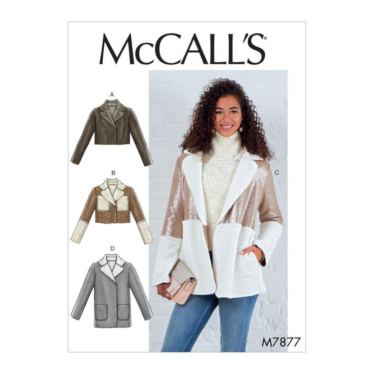McCall's Pattern M7877 Misses' Jackets