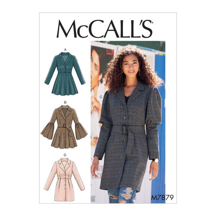 McCall's Pattern M7879 Misses' Coats