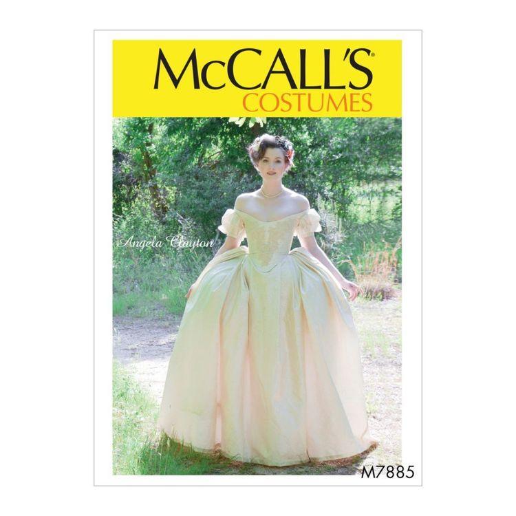 McCall's Pattern M7885 Angela Clayton Misses' Costume