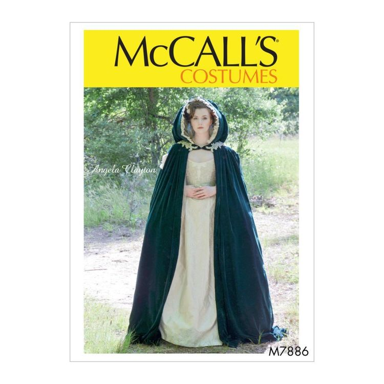 McCall's Pattern M7886 Angela Clayton Misses' Costume