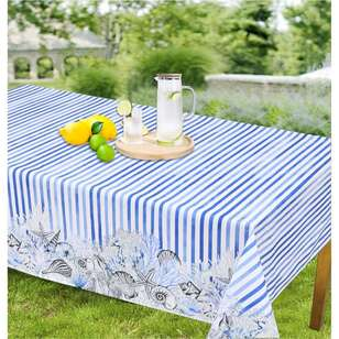 Koo Inside Out Reef Trestle Tablecloth