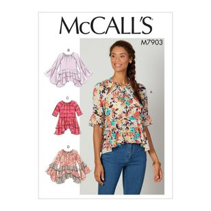 McCall's Pattern M7903 Misses' Tops
