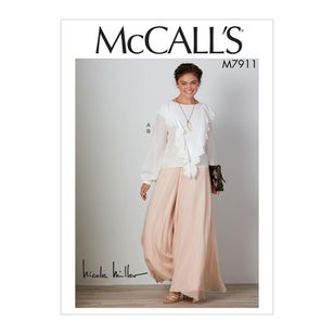 McCall's Pattern M7911 Create It! Misses' Top and Pants
