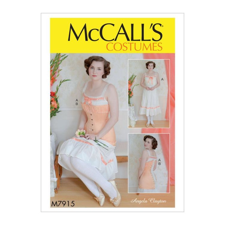 McCall's Pattern M7915 Angela Clayton Misses' Costume