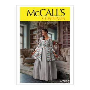 McCall's Pattern M7916 Outlander The Series Misses' Costume