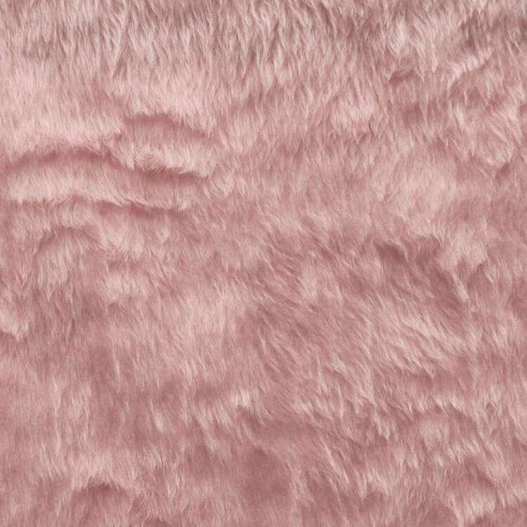 Plain 148 cm Fun Fur Fabric