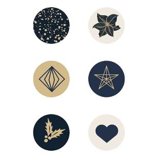 Kaisercraft Starry Night Curios 6 Pack