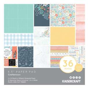 Kaisercraft Crafternoon 6.5 in Paper Pad