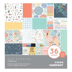 Kaisercraft Crafternoon Paper Pad