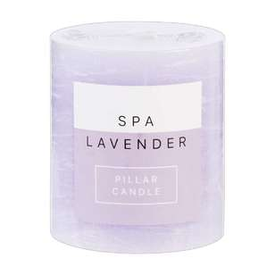 Living Space Spa Pillar Candle