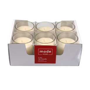Mode Vanilla Set Of 6 Candle Jar