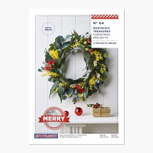 Xmas Gatefolds Wreaths #4 Project Leaflet