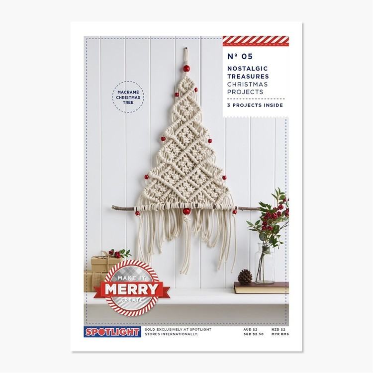 Xmas Gatefolds Macrame #5 Project Leaflet