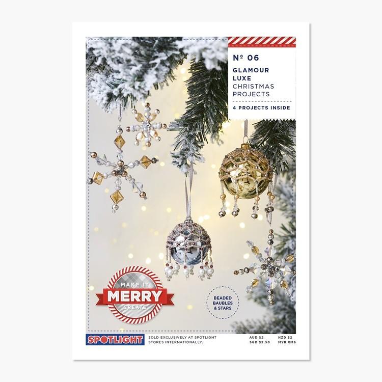 Xmas Gatefolds Tree Decorations #6 Project Leaflet
