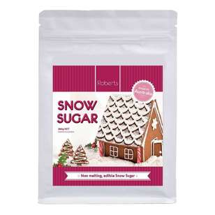 Robert's Edible Craft Snow Sugar