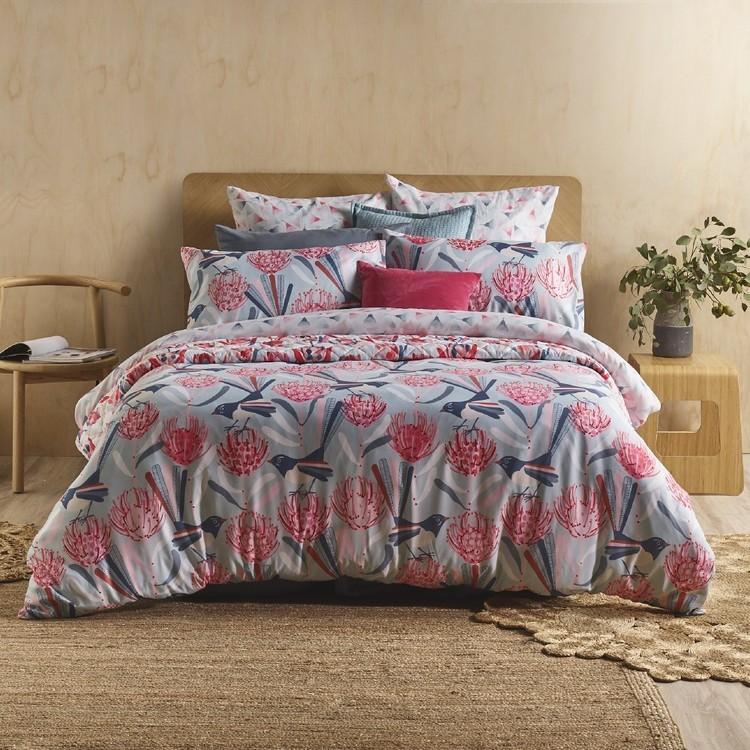 KOO Jocelyn Proust Australian Flora Quilt Cover Set