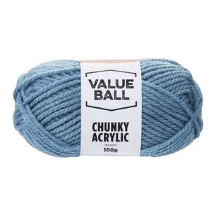 Value Ball Chunky Acrylic Yarn