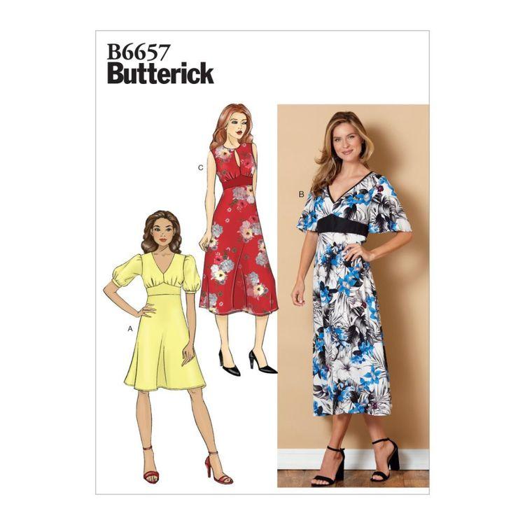 Butterick Pattern B6657 Misses' Dress