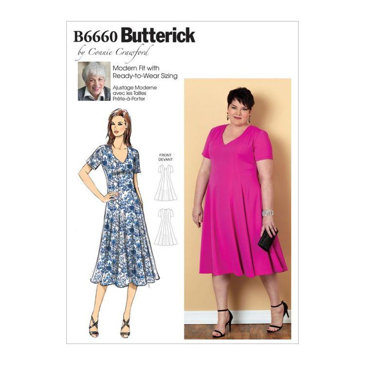 Butterick Pattern B6660 Misses'/Women's Dress