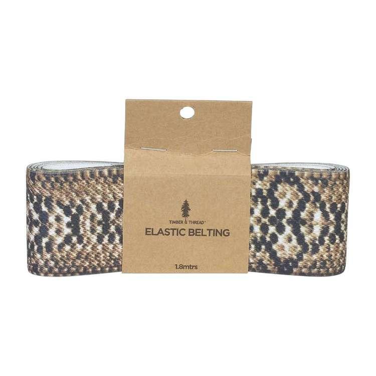 Timber & Thread Snake Elastic Belting # 1